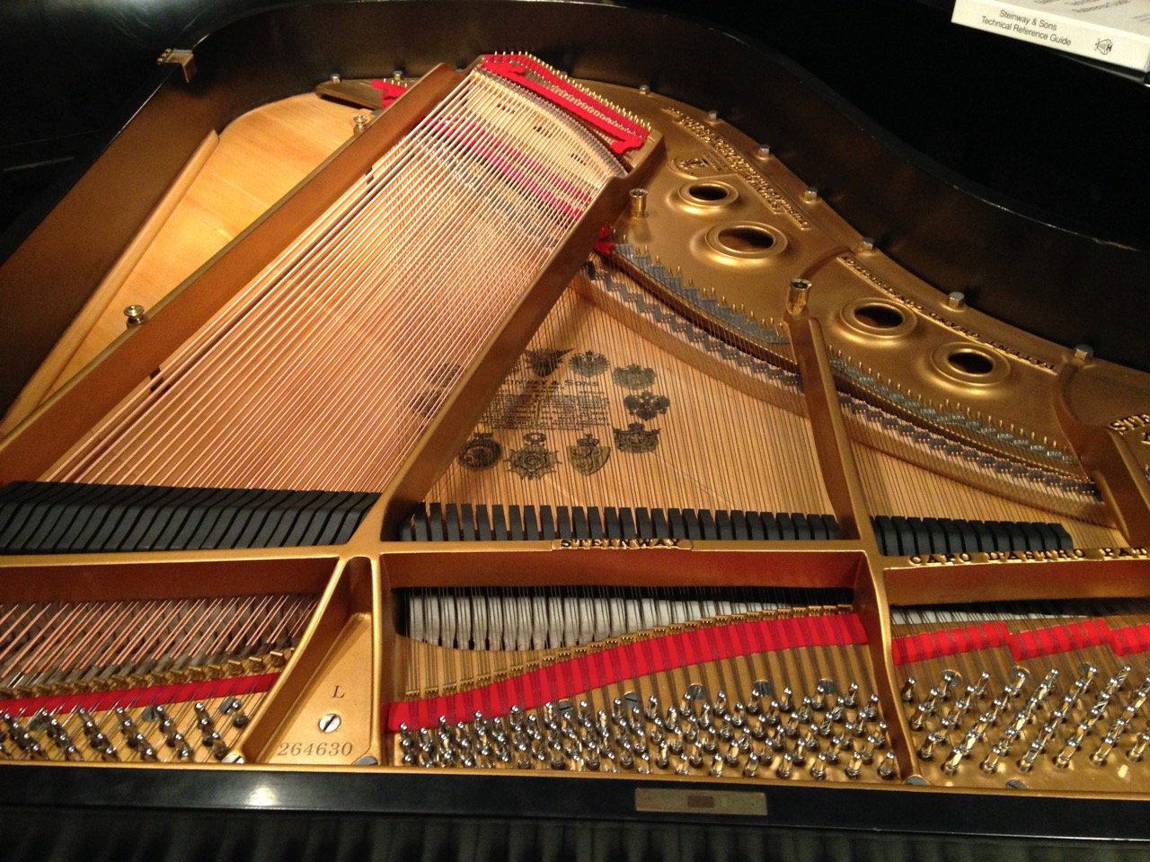 Steinway Grand After Rebuilding